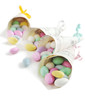 Jordan Almond Candies in paper corner