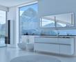 Exclusive Luxury Bathroom   3D Interior