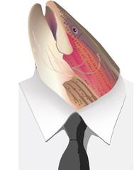 maschera di trota
