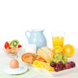 Leinwandbild Motiv Frühstück