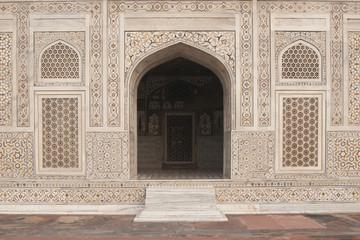 Mughal tomb (I'timad-ud-Daulah) in Agra, India