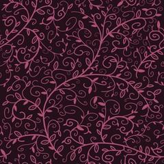 Wallpaper pattern - seamless floral ornament