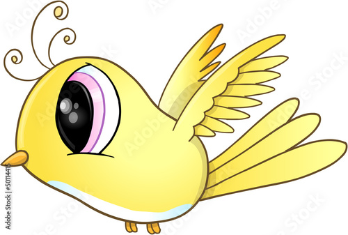Cute Bird Vector