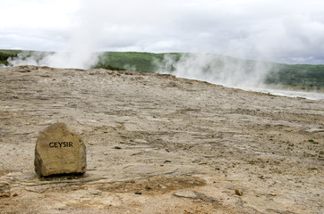 Iceland - Geysir - Golden Circle