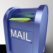 Mail On Mailbox Showing Delivered Correspondence