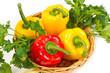 pepper in basket