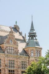 Ornamental building in Stockholm, Sweden