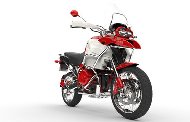 Red And White Bike