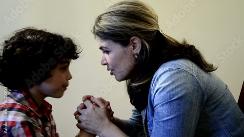 Mother Instruction in Prayer