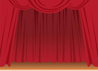 赤いカーテン(舞台)