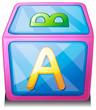 An alphabet cube
