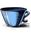 Cup isolated