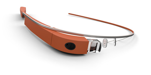 Wearable computer glasses