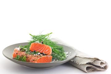 Nordic Food. Salmon