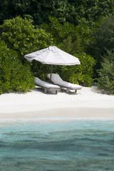 Chairs at Maldives