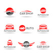 Car service and Repairing icon set. Vol 2.