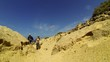 Travelers in the desert, Fuerteventura, Canary Islands
