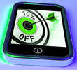 10 Percent Off On Smartphone Shows Sales