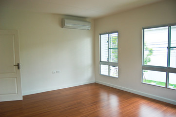 beautiful apartment, interior, big empty room