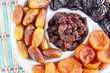 Sweet Dried Fruits On A Plate