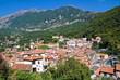 Panoramic view of Maratea. Basilicata. Italy.
