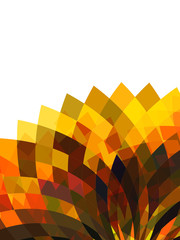 Abstract mosaic background. Vector Illustration