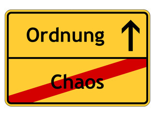 Chaos - Ordnung