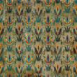 Royal grunge pattern