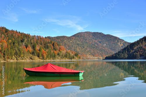 Boot auf bayrischem See