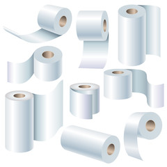 Paper roll set