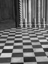 Bergamo stare informacje o miejscowości obrazu czarno-białe
