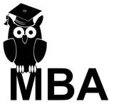 MBA (degree) - study owl poster
