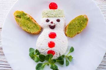 christmas breakfast for child
