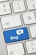 Blog keyboard key 1