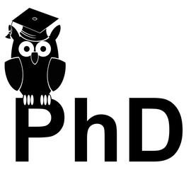 PhD owl - study owl