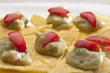 Guacamole con tortillas chips