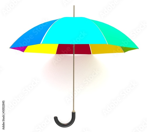 3d Rainbow umbrella