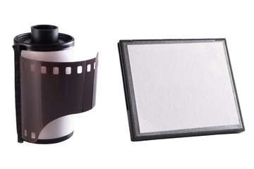 Camera film and memory card