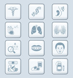 Medicine icons | TECH series