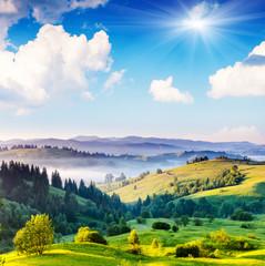 Wzgórza i pagórki - góry