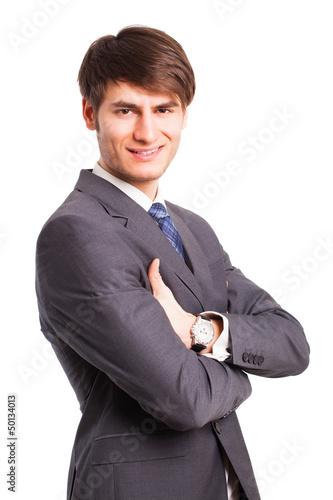 freundlicher Geschäftsmann
