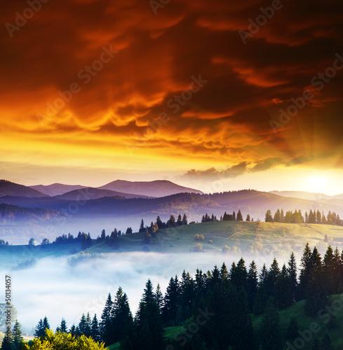 mountains landscape - 50134057