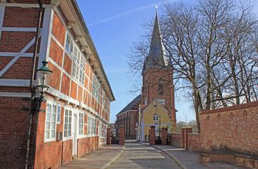 Cuxhaven: Martinskirche in Ritzebüttel (Niedersachsen)