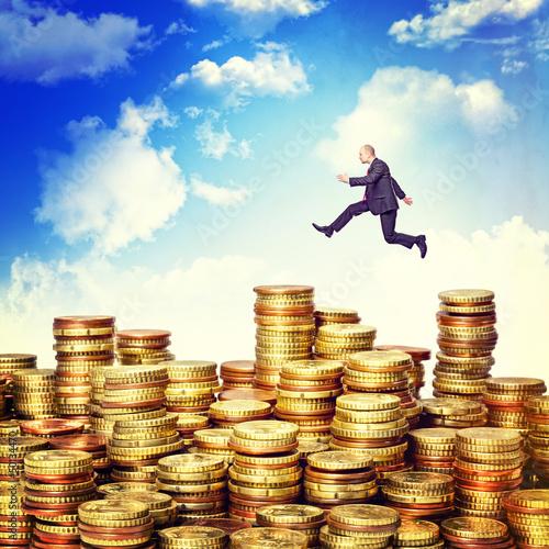 jump on money