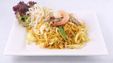 Sigapore noodles stir fried with vermicelli noodles.