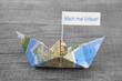 Mach mal Urlaub - Segelboot als maritime Deko