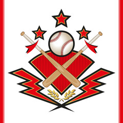 Baseball team emblem