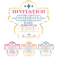 Gorgeous Invitation