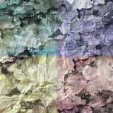 Fond papier froissé multicolore