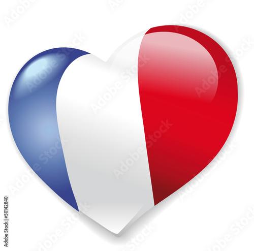 Herz Frankreich